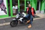 Marwan Berreni (Abdel) passe son permis moto !