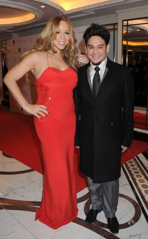 Mariah au Noble Gift Gala