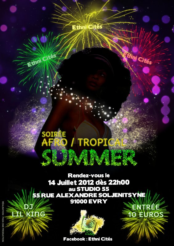 Soirée Afro / Tropical SUMMER