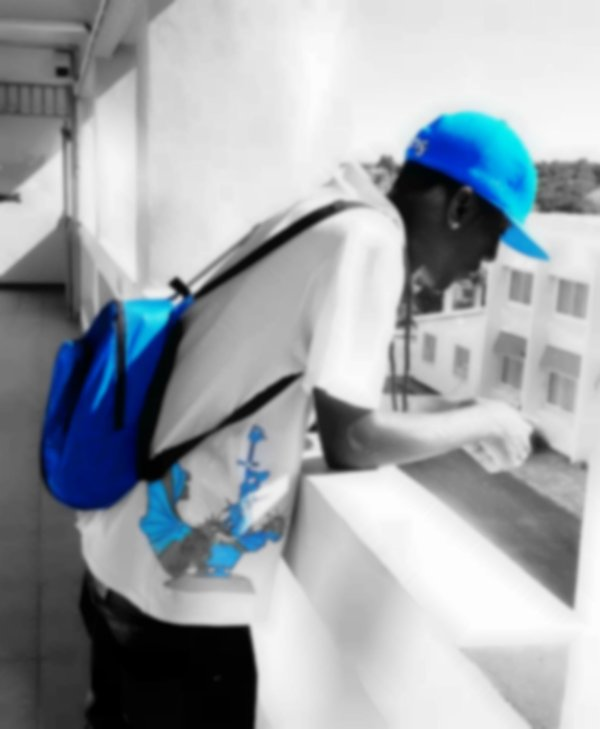 Boy Swagger at school