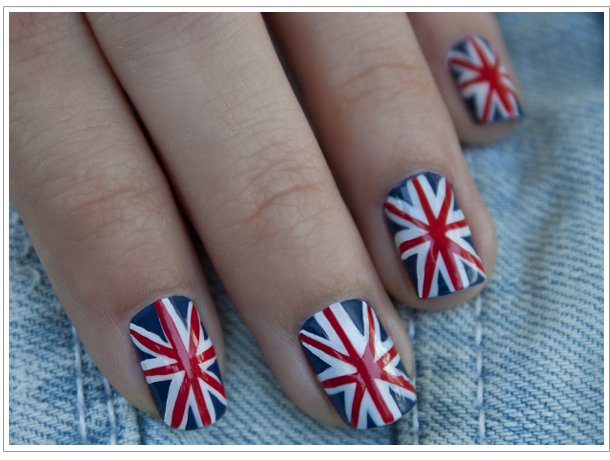 Tutoriel vernis : Union Jack Flag