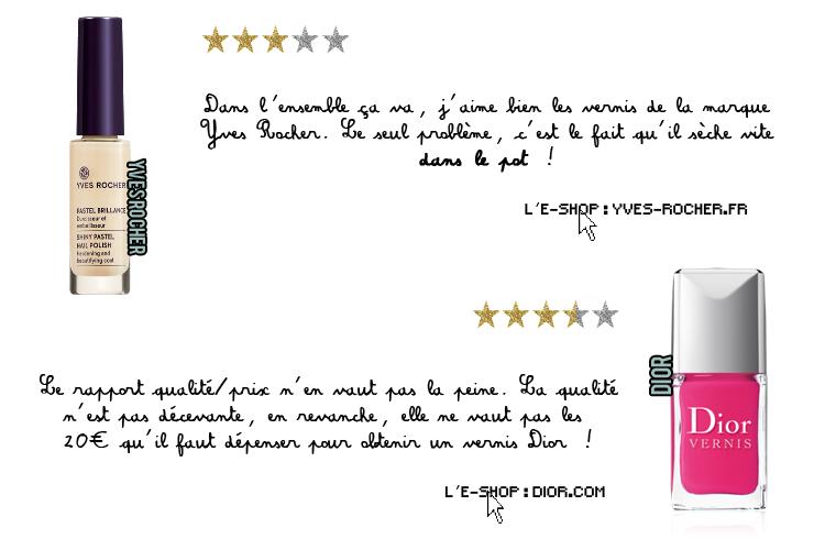 Rubrique de Johanna. N°1 Vernis.