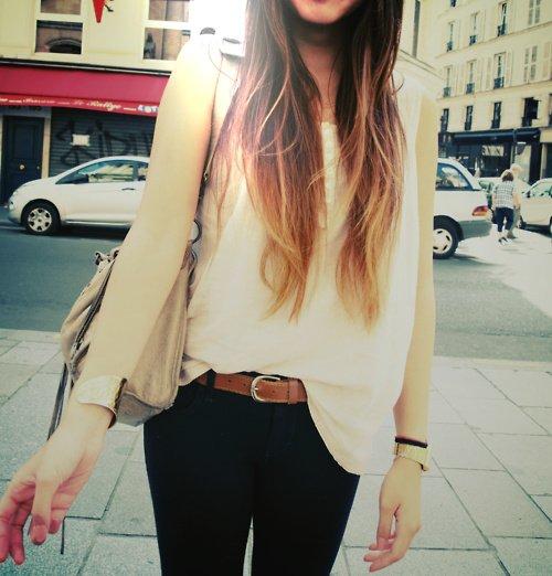 Le tie and dye / Ombré Hair