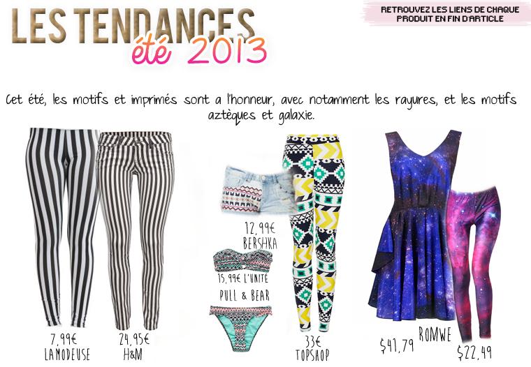 Mode Eté 2013
