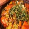 Recette tajine poulet aux légumes