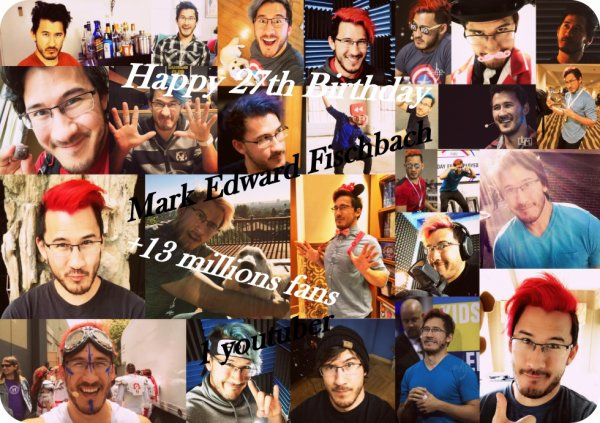 Happy Birthday Mark Edward Fischbach ! *^* ♥