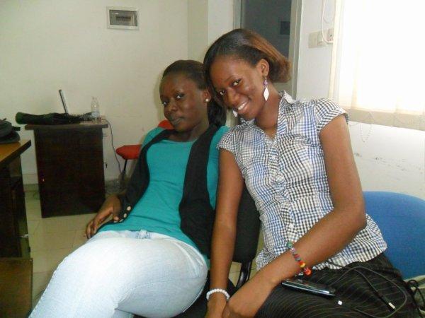 une amie et moi
