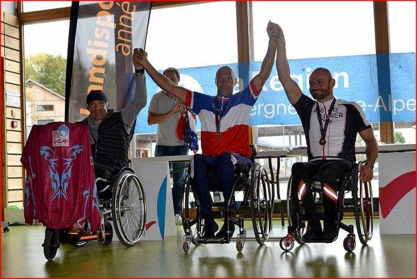 Championnats de France à Annecy.