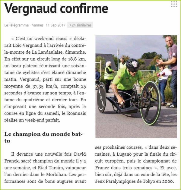 Presse de La Landaulaise #3 (Résultats).