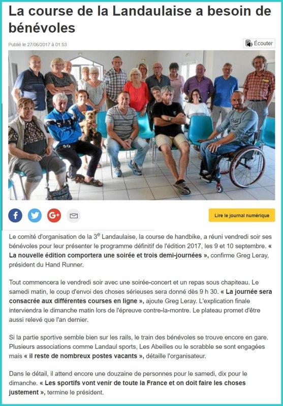 Presse de La Landaulaise #3. (Préparation)