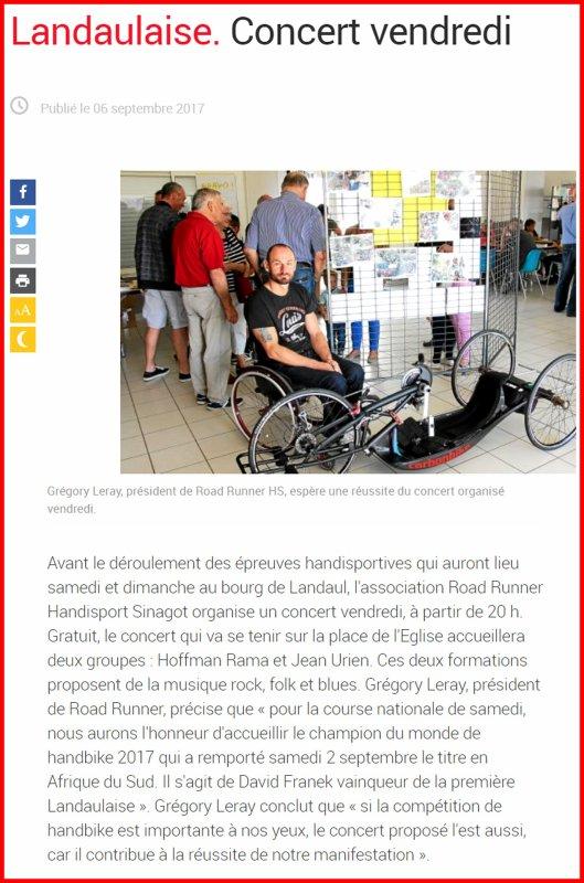Presse de La Landaulaise #3 (Préparation).
