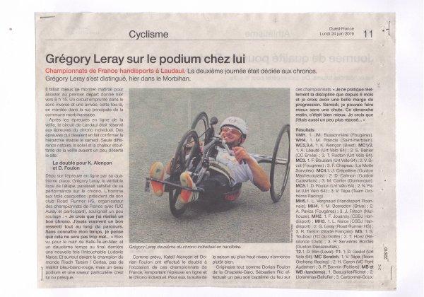La presse des Championnats de France 1