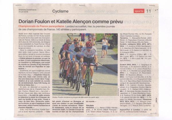 La presse des Championnats de France 2