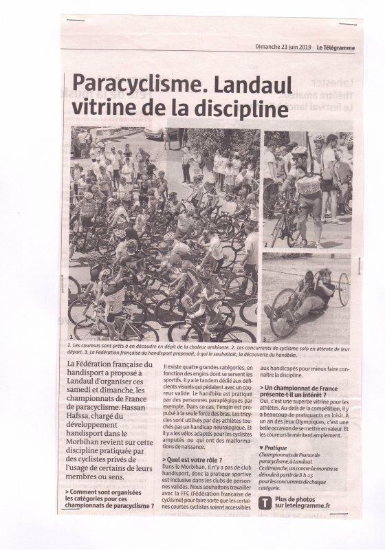 La presse des Championnats de France 3