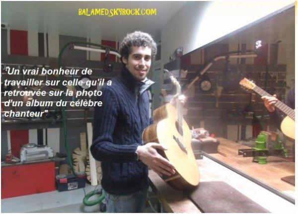 La guitare de Daniel Balavoine