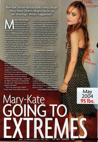 Mary-kate le Magazine
