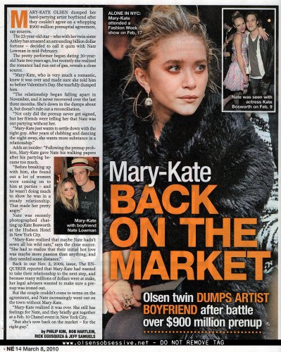 Un Magazine Sur Mary-kate !