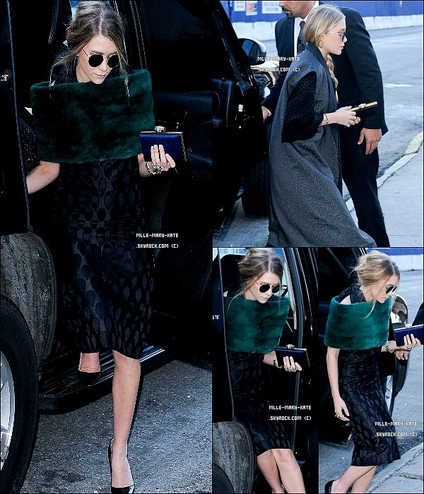 . 03/24/11 : Mary-kate et Ashley toute ravisante arrivent a Lincoln Center, New York City ! .