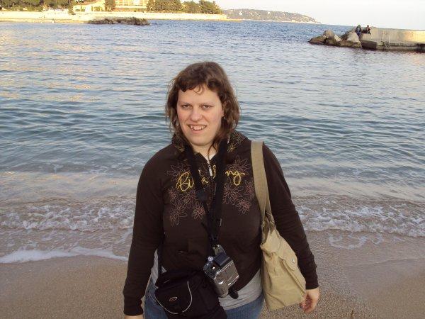 Moi sur la plage