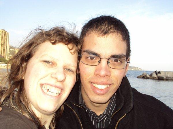 Chéri et moi sur la plage