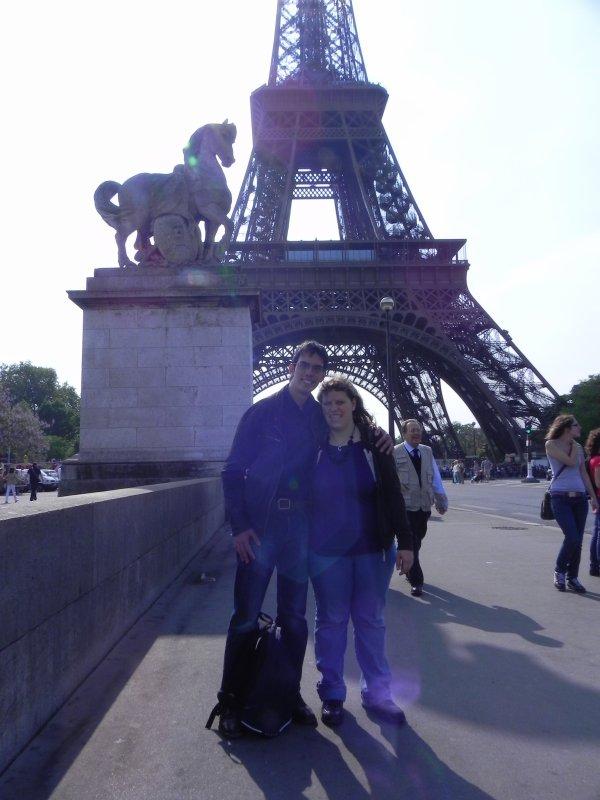 Mamour et moi à Paris
