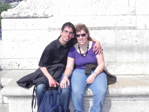 Sydney et moi à Paris