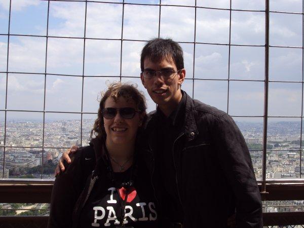 Moi et mamour à la tour Eiffel