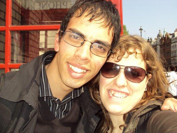 Mamour et moi à Londres
