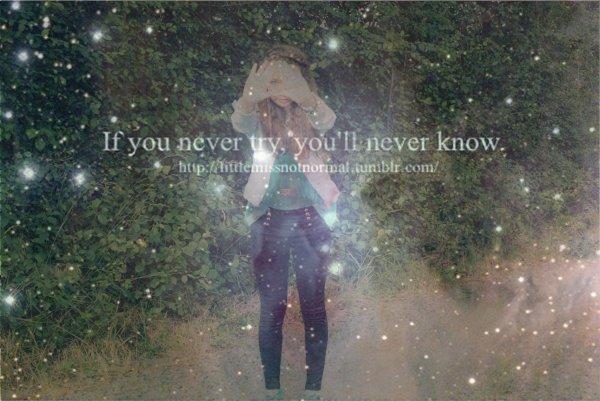 Ne tombez jamais amoureux, sautez d'un pont, ça fais moins mal..