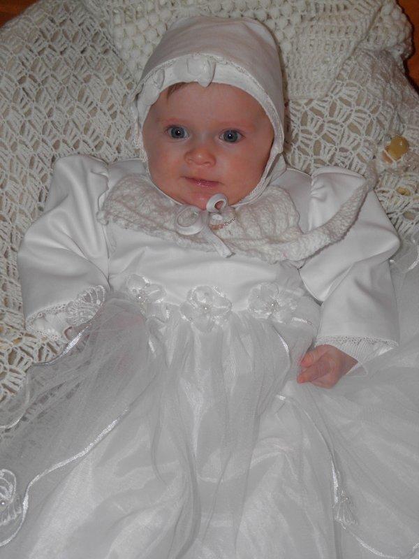 le baptème de ma nièce et filleule Maïva
