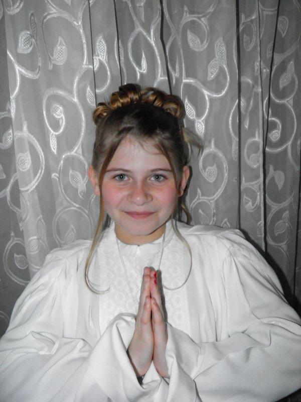 la communion de solène, le 19 mai 2013