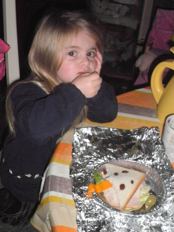 Mylène a cuisiné aux activités péri-scolaire ajd...