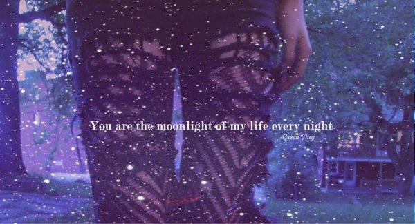 Il ne m'a fallut qu'une seconde pour t'Aimer...mais la vie entière ne me suffirait à t'Oublier...♥