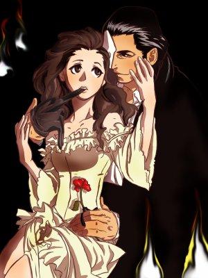 Image result for le fantome de l'opera dessin animé