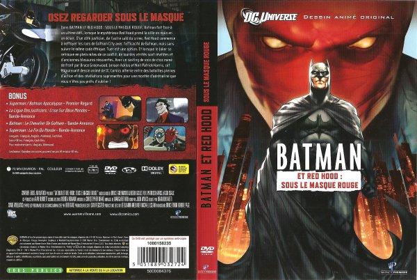 une autre chance matériaux de qualité supérieure styles frais FILM BATMAN ET RED HOOD : SOUS LE MASQUE ROUGE ANNEE 2010 ...