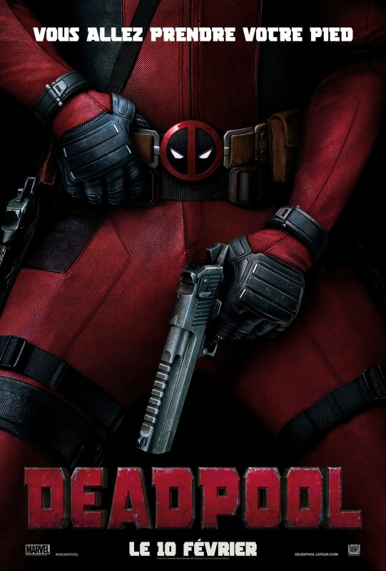 FILM DEADPOOL ANNEE 2016 REALISATEUR TIM MILLER DUREE 1H46