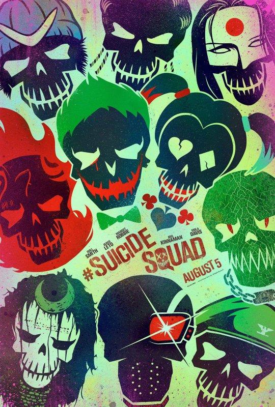 FILM SUICID SQUAD ANNEE 2016 REALISATEUR DAVID AYER DUREE...