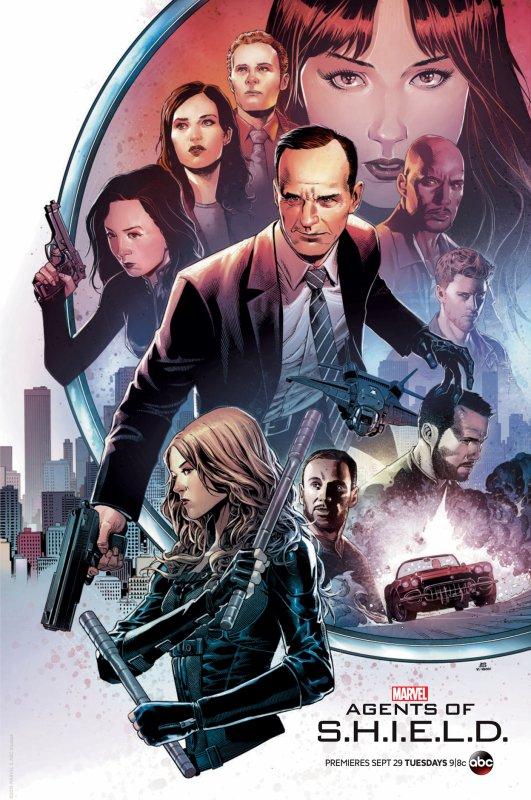 SERIE MARVEL : LES AGENTS DU S.H.I.E.L.D SAISON 3 ANNEE 2016