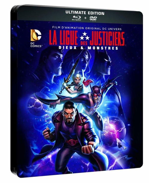 FILM LA LIGUE DES JUSTICIERS : DIEUX ET MONSTRES ANNEE 2015 REALISATEUR... DUREE...
