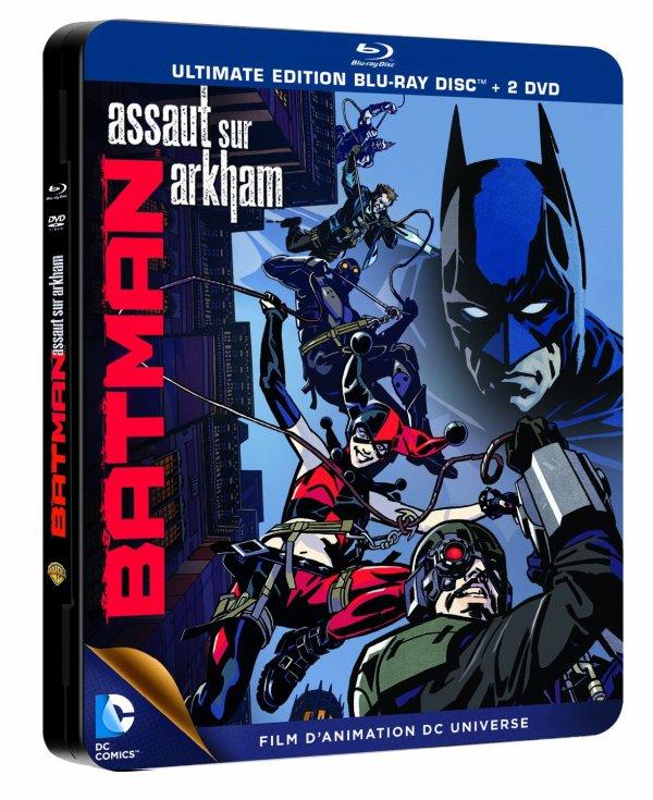 FILM BATMAN : ASSAUT SUR ARKHAM ANNEE 2014 REALISATEUR ... DUREE ...
