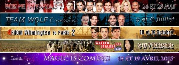 Convention de nos séries préférées!!!