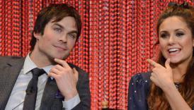 "The Vampire Diaries Saison 5 : Nina Dobrev trouve Delena ""bizarre"""