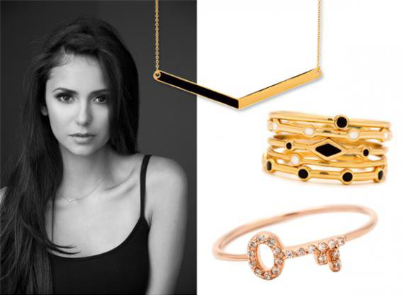 Nina Dobrev x Gorjana Jewelry, la collection pour la bonne cause