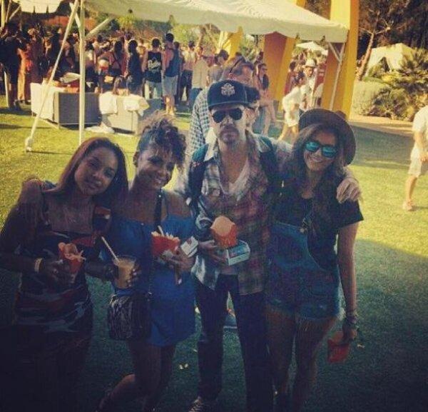Coachella 2014, Nina Dobrev, Karrueche Tran et Christina Milian sur Instagram, battle looks