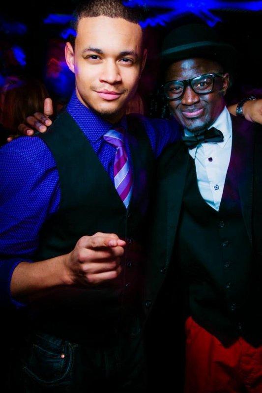 Mit Meinem kumpel Carlos