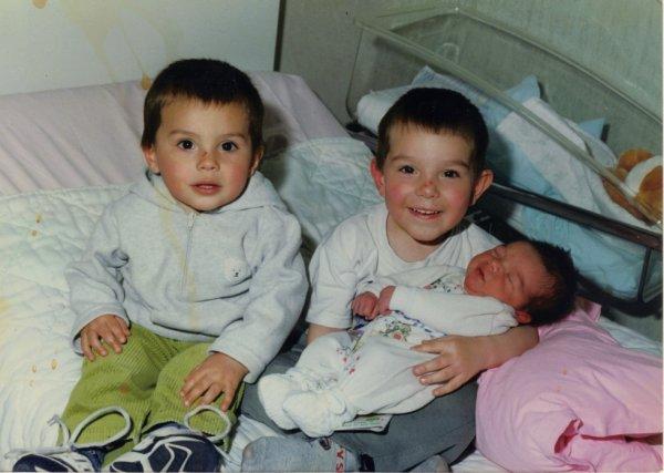 Mes trois amours petits!!!!