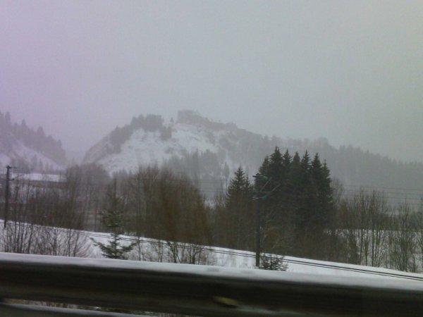 pontarlier sous la neige , magnifique!!
