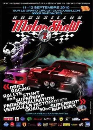 ce weekend c'est Roussillon motors show !!!