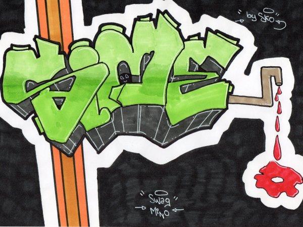 SiME // Graffiti sur papier