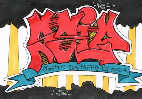 SEIO // Graffiti encore et toujours sur papier :)
